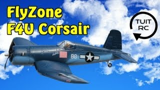 Flyzone F4U Corsair Tx-R RC Airplane Review and Flight