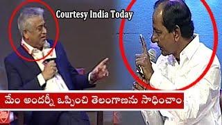 CM KCR @ India Today Conclave South 2018 - Hyderabad  - netivaarthalu.com