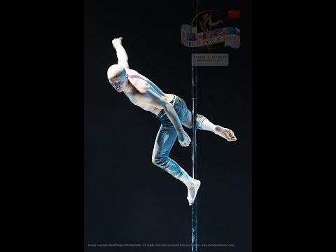 Egor Churakov – RUSSIA - World Pole Dance Championships - Beijing, China