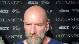 Outlander TV News' Tartan Carpet Interview with Graham McTavish