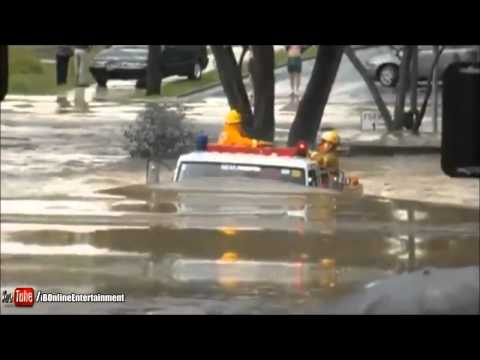 Isuzu Truck vs. flood