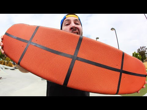 BASKETBALL GRIPTAPE SKATEBOARD