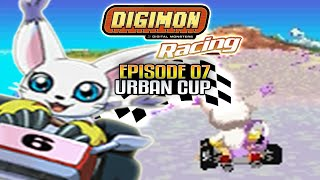 Digimon Racing - Part 7 - Urban Cup - (Salamon/Gatomon Gameplay)