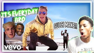 Jake Paul - It's Everyday Bro (Remix) [feat. Gucci Mane] BEST REACTION!