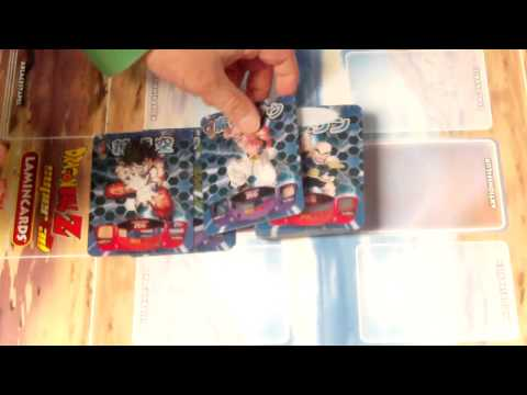 DragonBallZ Super 3D Lamincards Box Opening Deutsch(German) Part.3 (Die Pulls)