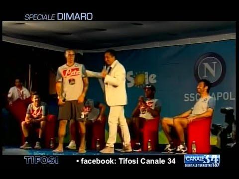 I tifosi intervistano Mesto, Zapata, Jorginho, Colombo con saluto di Hamsik - Tifosi 19/07/14