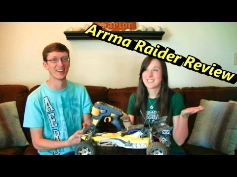 Arrma Raider RC Review - 2WD Electric RC Buggy