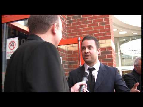 Eran Creevy & Danny Mays interview Southend Film Festival Video