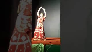 Kathak Performance By Sangeeta Basu on Bijoya Doshomi 2016