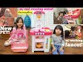 Kids' Cooking Kitchen Playset with Real Running Water! Hulyan and Maya's New Pet, Parakeet Birds MP3