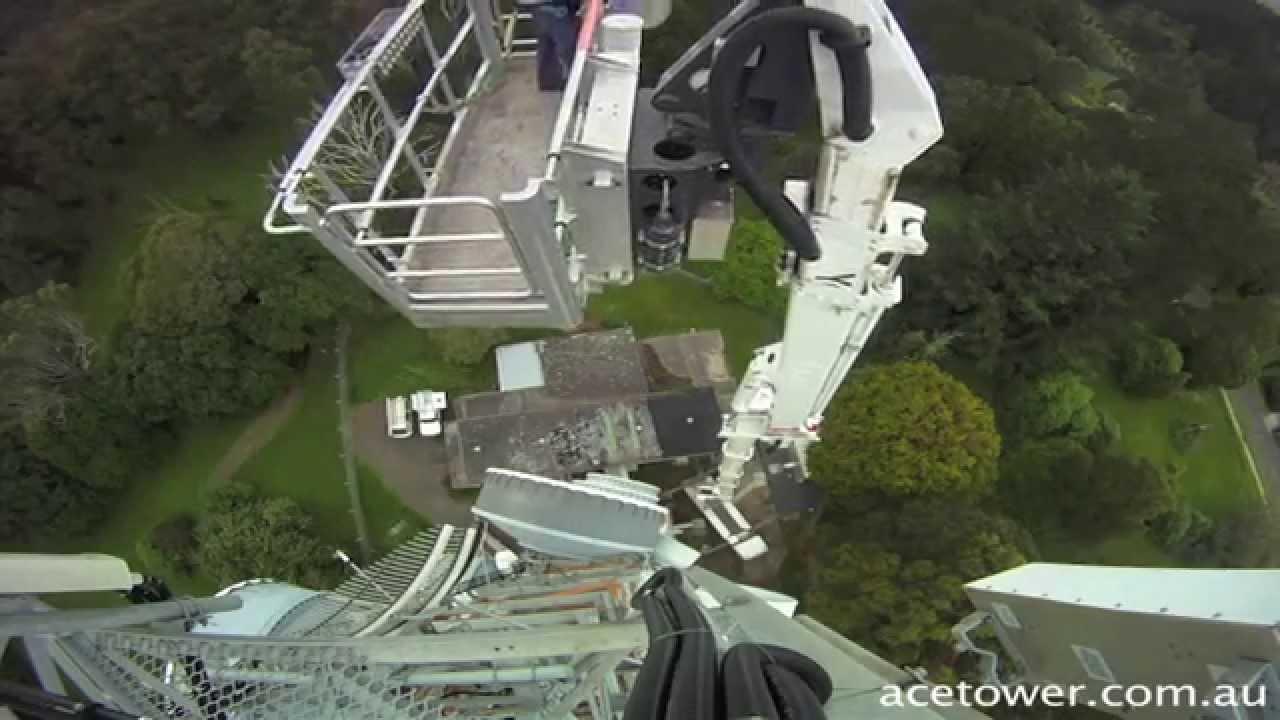Tallest Aerial Lift : Aerial work platform tall boom truck man lifts quot cherry