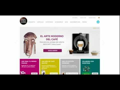 Dolce-Gusto.es Opinión de Cliente + Descuento Promocional para cápsulas de cafe Nescafé y cafeteras
