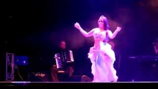 Giselle Castro Belly Dance @ The Arab Quarter 2014.