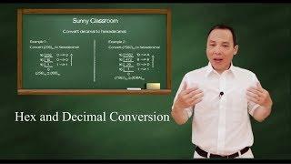 Hex and decimal conversion