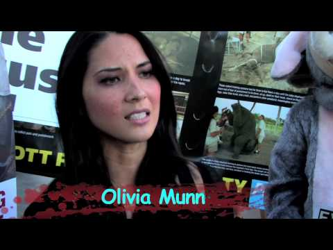 Actress, model and presenter Olivia Munn and Hulk Hogan's ex-wife Linda ...