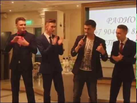 Танцевальный конкурс на выпускном вечере  школы №48 2016