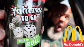 Letting Yahtzee Dice Decide What I Eat (Fast Food CHALLENGE)