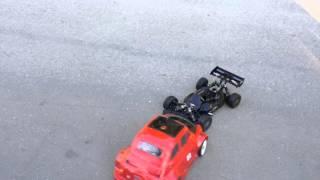 Rc Modellismo Caserta - Rc cars Buggy Mugen Mbx6 nitro against brushless