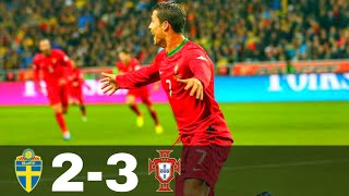 Sweden vs Portugal 2-3 - World Cup 2014 Qualification | All Goals & Highlights