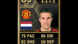 FIFA 13 IF VAN PERSIE 89 Review & In Game Stats Ultimate Team
