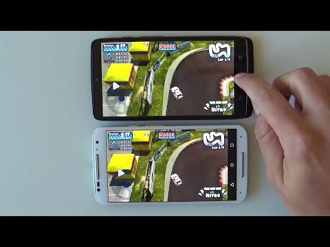 Droid Turbo VS Moto X 2014 (rendimiento)