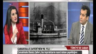 TRT TÜRK Türkiye'de Sabah, Çanakkale Zaferi'nin 98. yıl dönümü, Doç.Dr. Seyfi Yıldırım