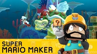 Super Mario Maker -- What?! JAKE!! That's Just RUDE!!