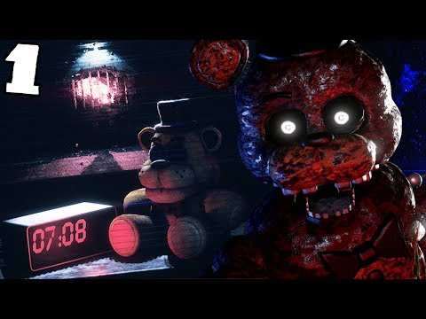 SURVIVING THE ANIMATRONIC NIGHTMARES! || The Joy of Creation: Story Mode (Five Nights at Freddys)
