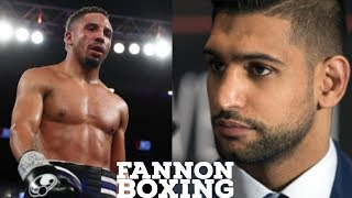 ANDRE WARD THINKS AMIR KHAN WILL CHOKE IN CRAWFORD FIGHT | SAYS KHAN GETS LOST IN THE MOMENT