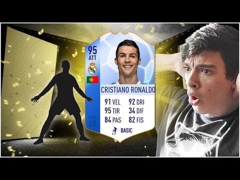 50.000 FIFA POINTS PER TROVARE RONALDO ATT! - TOTGS PACK OPENING FIFA 18
