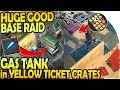 GAS TANK in YELLOW CRATES! - HUGE GOOD BASE RAID - Last Day on Earth Survival Update 1.10.2