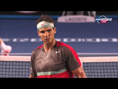 Rafael Nadal Vs Stanislas Wawrinka Australian Open 2014 FINAL 2 SET/Second Set 720 HD