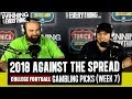 WCE 2018 College Football Gambling Picks Week 7 Against The Spread mp3