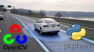 OpenCV Python Tutorial - Find Lanes for Self-Driving Cars  (Computer Vision Basics Tutorial)