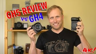 Panasonic GH5 Hands-on Review vs GH4 in 4k with sample footage