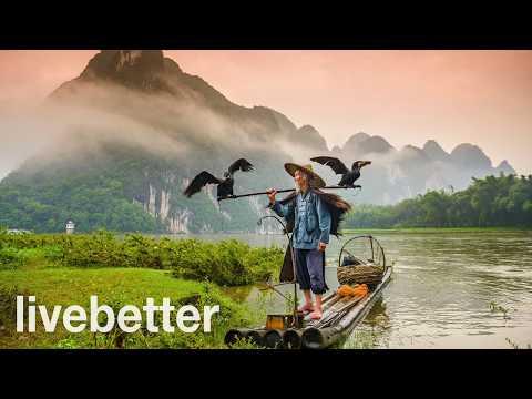 Musica chinesa relaxante tradicional lenta suave para estudar, meditar, dormir