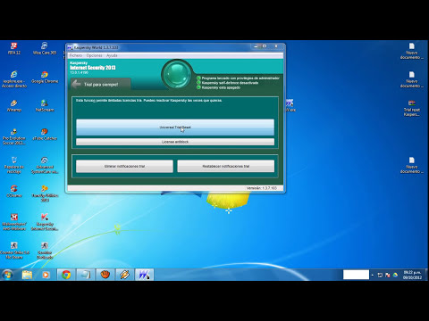 kaspersky internet security 2013 trial reset