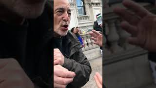 Glyn Secker addresses Free Palestine rally, 11 May 2019