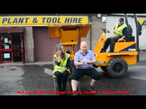 Arvill Plant and Tool Hire firm's ice bucket challenge video