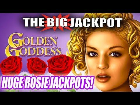 🌹HUGE ROSIE JACKPOTS! 🌹Golden Goddess STRIKES AGAIN! 👧Lodge Casino JACKPOTS! | The Big Jackpot