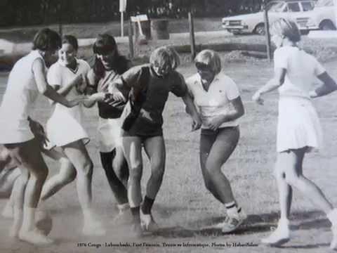 1976 Congo   Lubumbashi, Foot Féminin, Tennis vs Informatique, Photos by HabariSalam