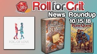 Lords of Vegas + New Fog of Love Covers | News Roundup 10/15/18