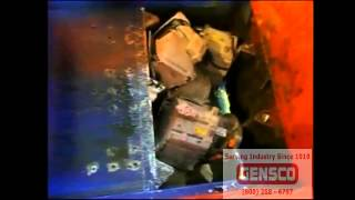 Gensco T-BREAK Motor Engine Automotive Rim E-Waste Crushing Machine