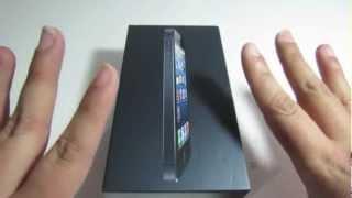 Unboxing iPhone 5 Negro 32gb sobre Espanol