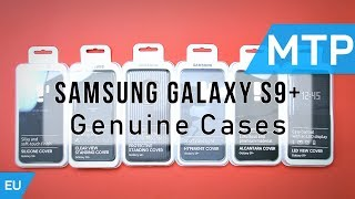 Samsung Galaxy S9 Plus Cases & Covers | Official Case Lineup