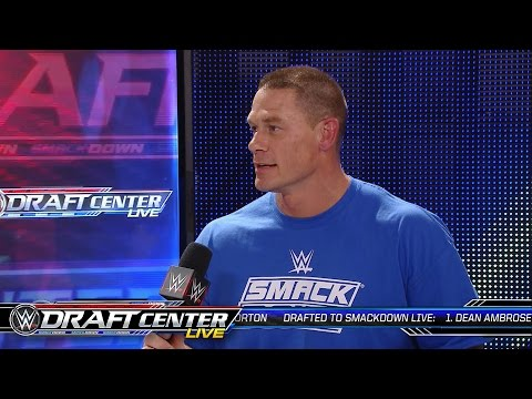 John Cena reacts to being drafted to SmackDown Live: July 19, 2016