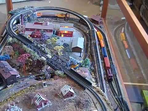 N SCALE COFFEE TABLE LAYOUT WITH CUSTOM POWERPACK