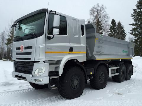 Новый грузовик ТАТРА. Скании и Вольво такое только снится. Truck Trial Compilation Tatra 815 8x8-DAF