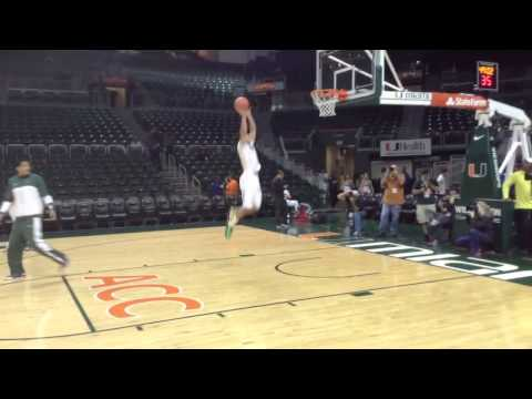 Dallas Mavericks rookie Shane Larkin big dunk