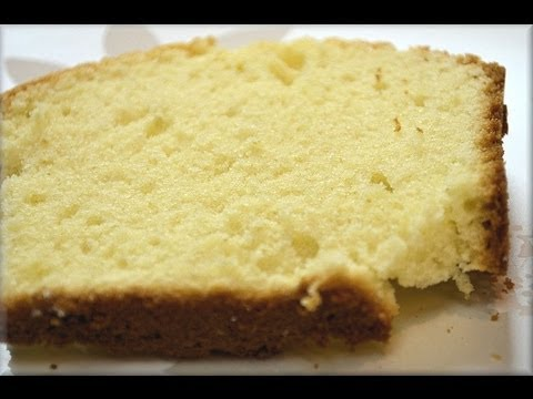 How to Make Buttermilk Pound Cake